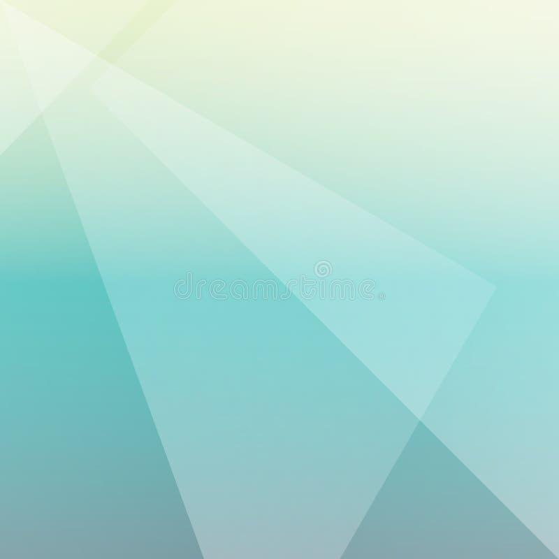 Abstract geometric triangle overlay minimalist style on green co. Lor background. Vector illustration vector illustration