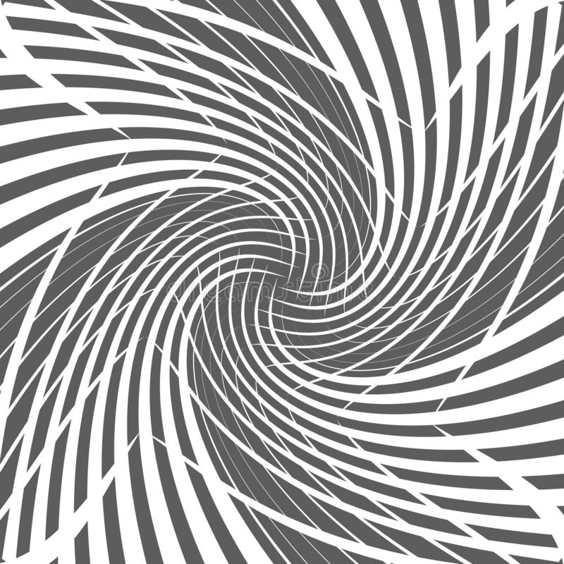Abstract geometric twirl halftone spiral background design vector illustration. Abstract geometric twirl halftone spiral design background vector illustration vector illustration