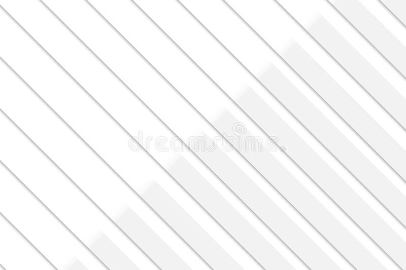 Abstract geometric white and gray color background, vector illustration stock illustration
