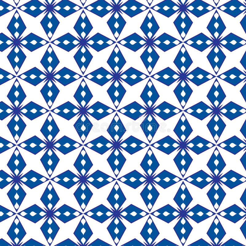 Abstract geometrical blue pattern vector background vector illustration