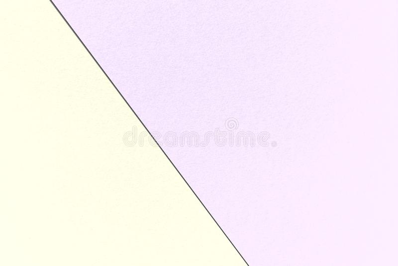 Abstract geometrical Pastel background with Lavender and Cornsilk colors, watercolor paper texture stock illustration