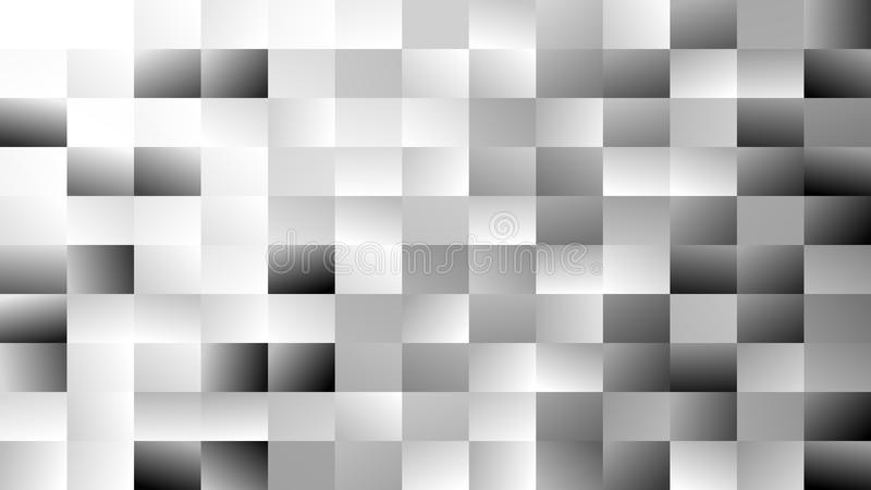 Abstract geometrical rectangle background - gradient vector mosaic design from grey rectangles. Abstract geometrical rectangle background - gradient vector vector illustration