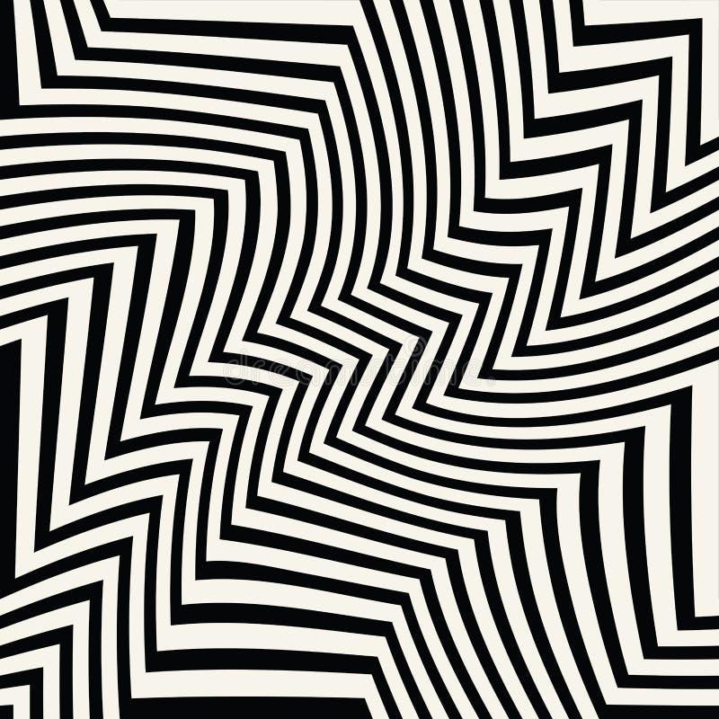 Abstract geometrisch de chevronpatroon van het lijnen grafisch ontwerp royalty-vrije illustratie
