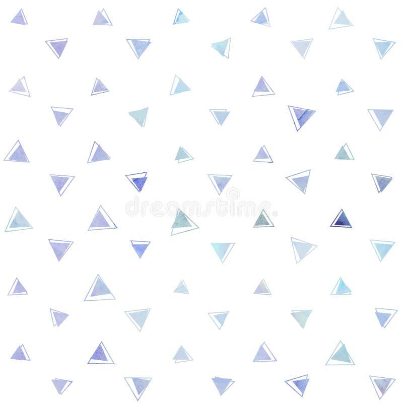 Abstract geometrisch driehoekspatroon vector illustratie
