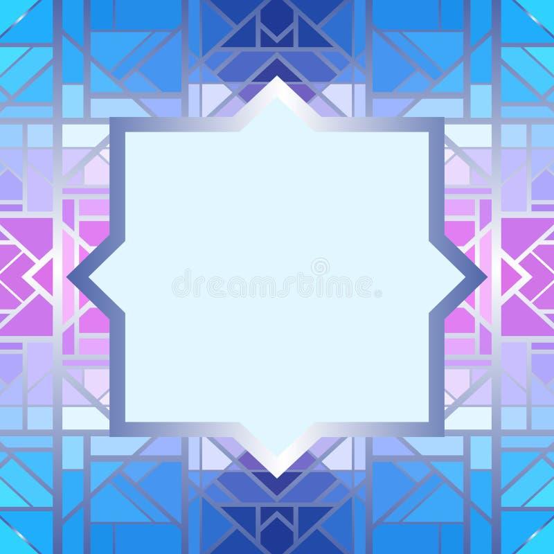 Abstract geometrisch frame vector illustratie