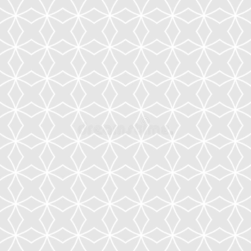 Abstract geometrisch naadloos patroon Eenvoudige geometrische achtergrond vector illustratie