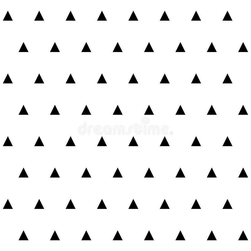 Abstract geometrisch naadloos patroon met tringles royalty-vrije illustratie