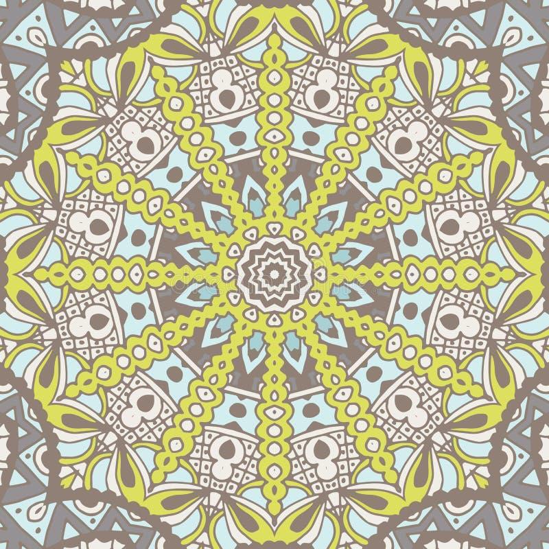 Abstract geometrisch naadloos patroon sier stock illustratie