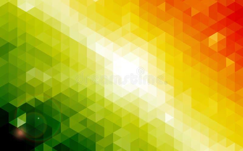Abstract geometrisch Ontwerp als achtergrond. stock illustratie