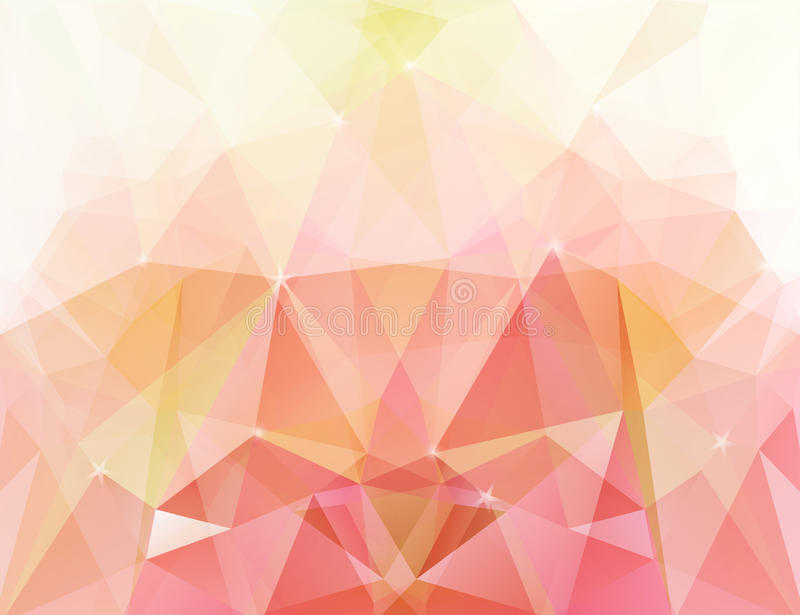 Abstract Geometrisch patroon royalty-vrije illustratie