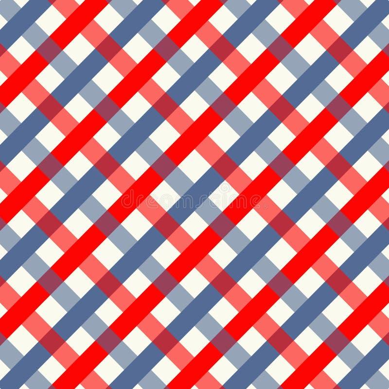 Abstract geometrisch patroon met lijnen met een naadloze vectorachtergrond stock illustratie