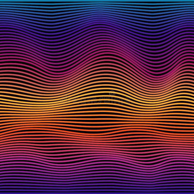 Abstract Geometrisch patroon Vector illustratie vector illustratie
