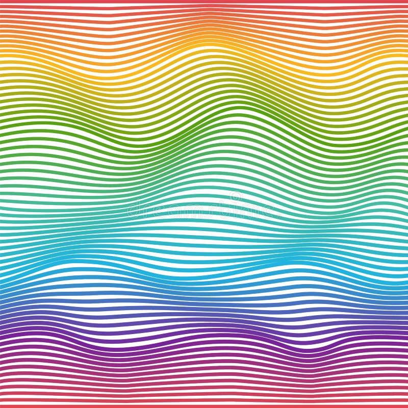 Abstract Geometrisch patroon Vector illustratie stock illustratie