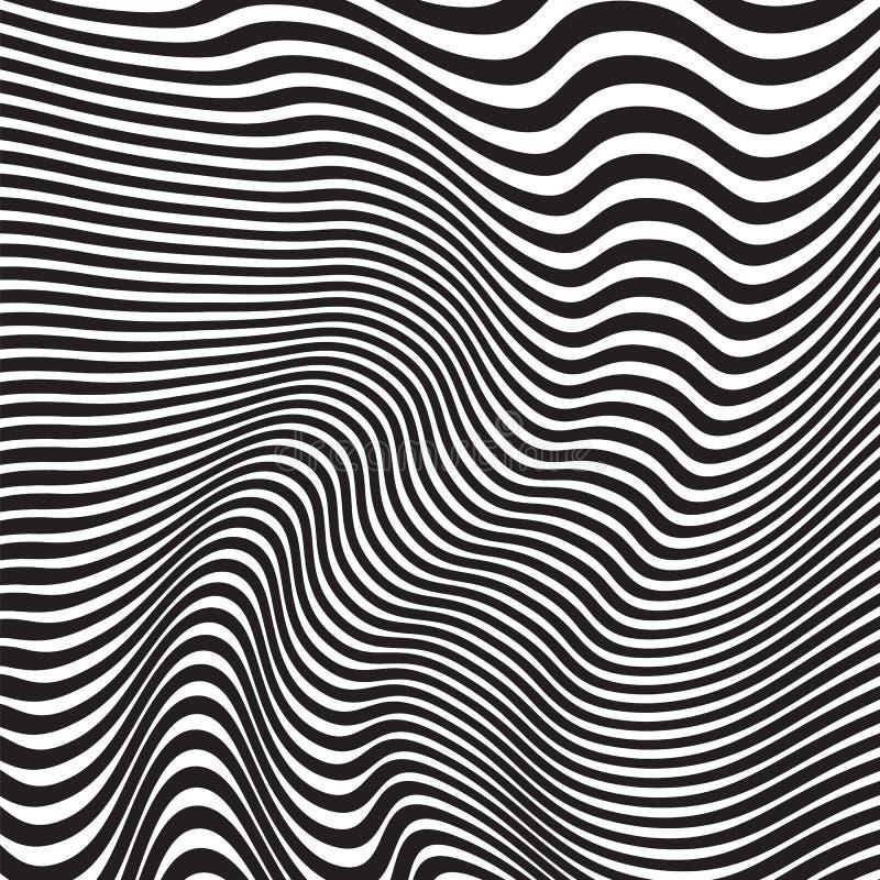 Abstract Geometrisch patroon Vector illustratie royalty-vrije illustratie