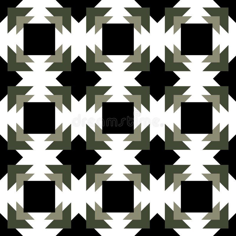 The abstract geometry black and white background design., vector design. royalty free stock photos