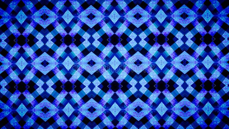 Abstract Geometry blue wallpaper. Abstract geometry blue color background royalty free stock photos