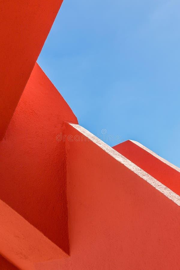 Free Abstract Geometry Of Orange Rugger Bending Stock Photo - 74183270