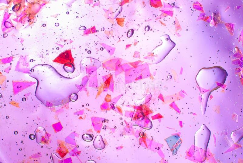 Abstract geweven neon transparant slijm als achtergrond royalty-vrije stock afbeeldingen