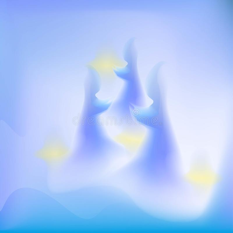 Free Abstract Ghost And Glow Background Royalty Free Stock Photos - 114065138