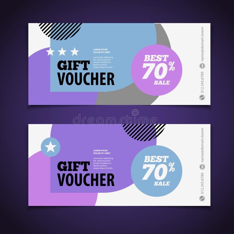 blank coupon design