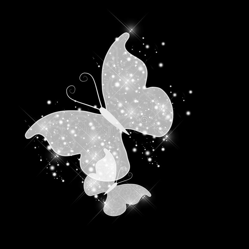 Download Abstract glamour butterfly stock illustration. Illustration of line - 17250985