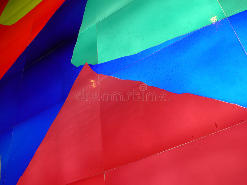 Abstract glas stock fotografie