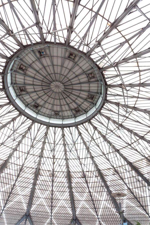 Abstract of Glass dome