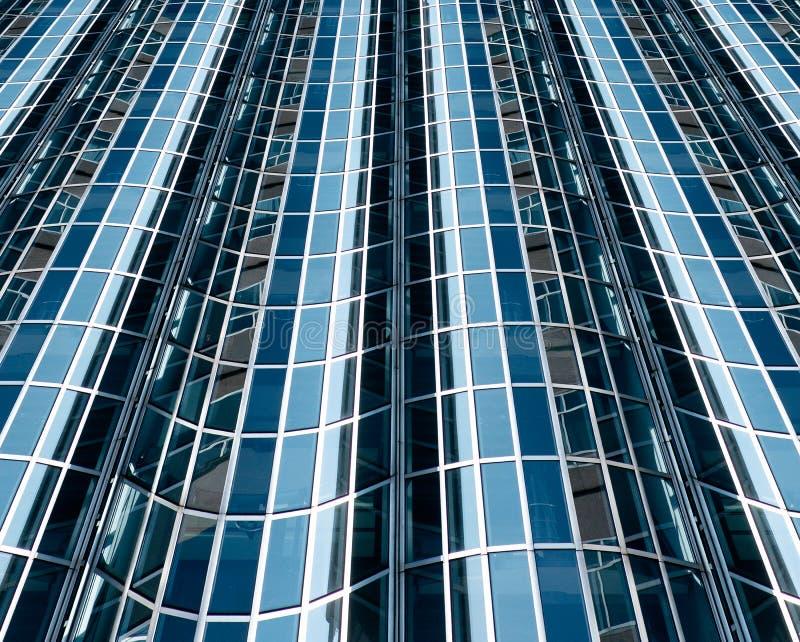 Abstract glass facade royalty free stock photos