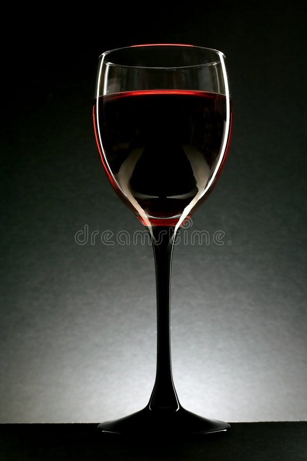 Free Abstract Glass Of Wine Stock Image - 927191