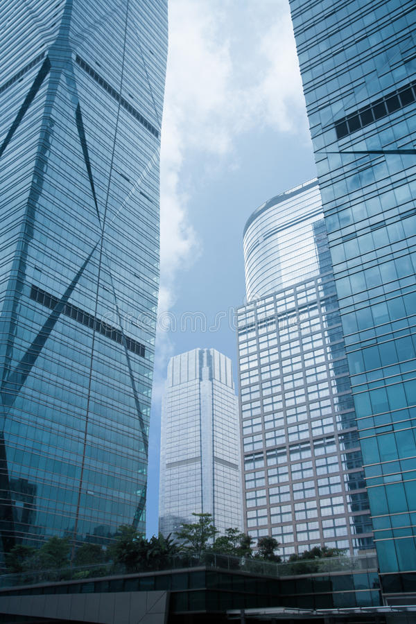 Download Abstract glass skyscrapers stock image. Image of abstract - 19559677