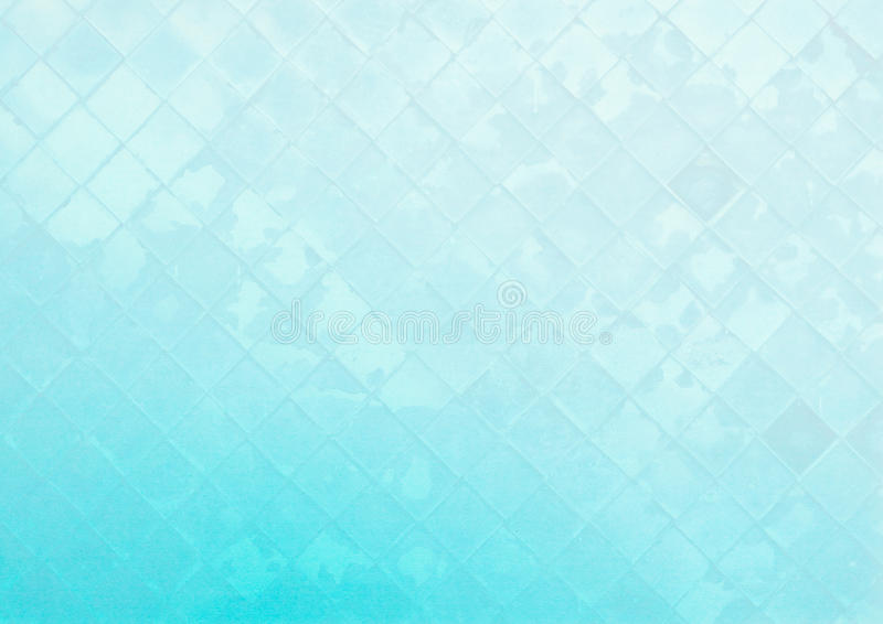 Abstract glass wall pattern on blue background royalty free stock image