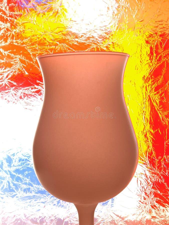Abstract Glassware Design stock photo