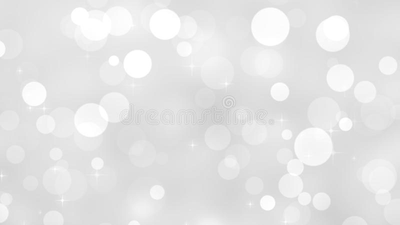 Abstract glitter bokeh background stock photography