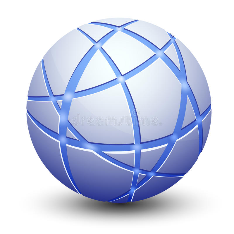 Download Abstract Globe Icon stock vector. Image of power, graphic - 16246970