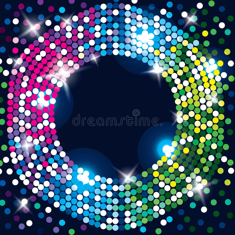 Abstract glowing background. stock illustration