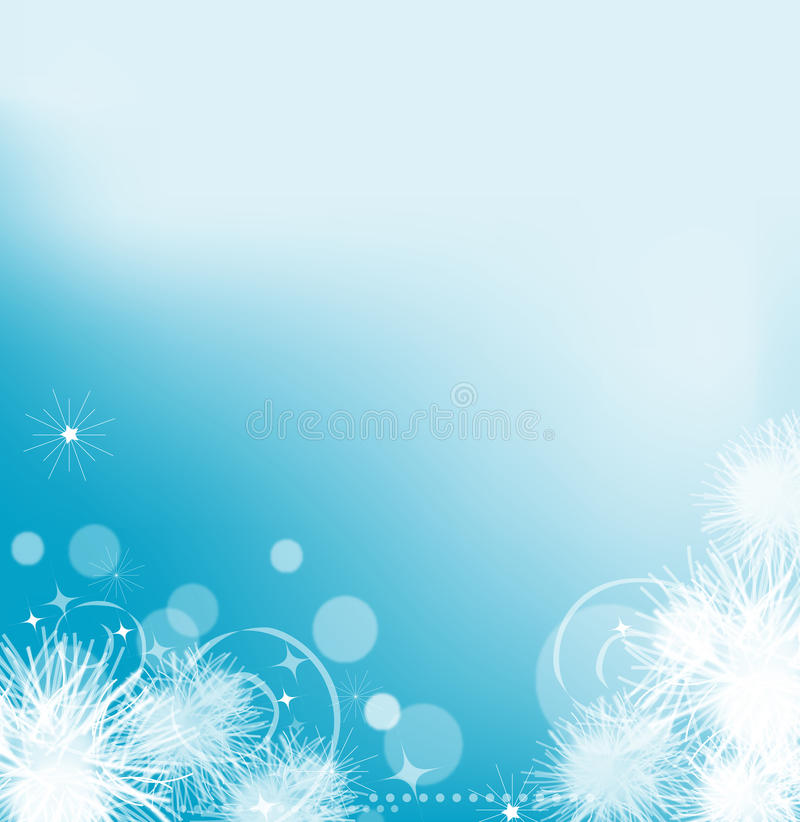 Abstract glowing background. With sparkles and glitter vector illustration