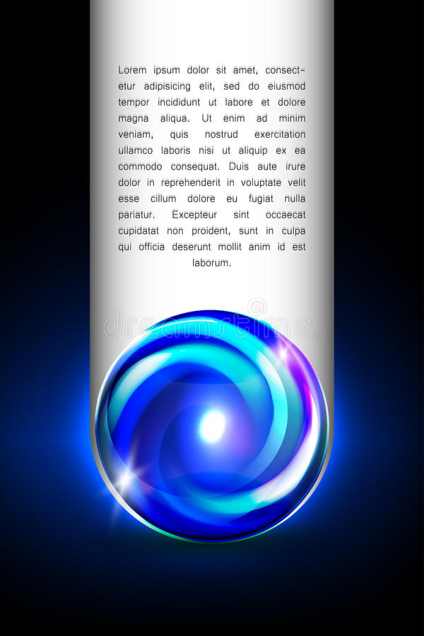 Free Abstract Glowing Ball For Your Design Royalty Free Stock Photos - 34694788