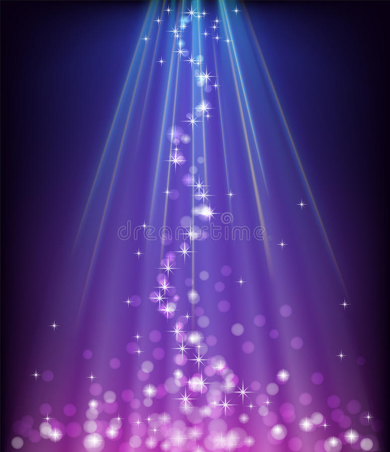 Download Abstract Glowing Blue Purple Background Stock Vector - Image: 28212562