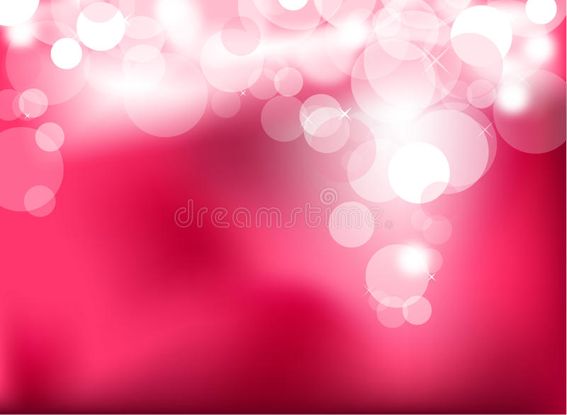 Abstract glowing pink lights royalty free illustration