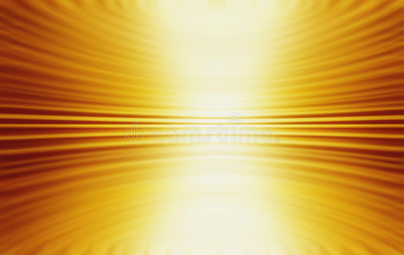 Abstract Gold Yellow Swirl Background. An abstract gold background with depth and a 3D feel