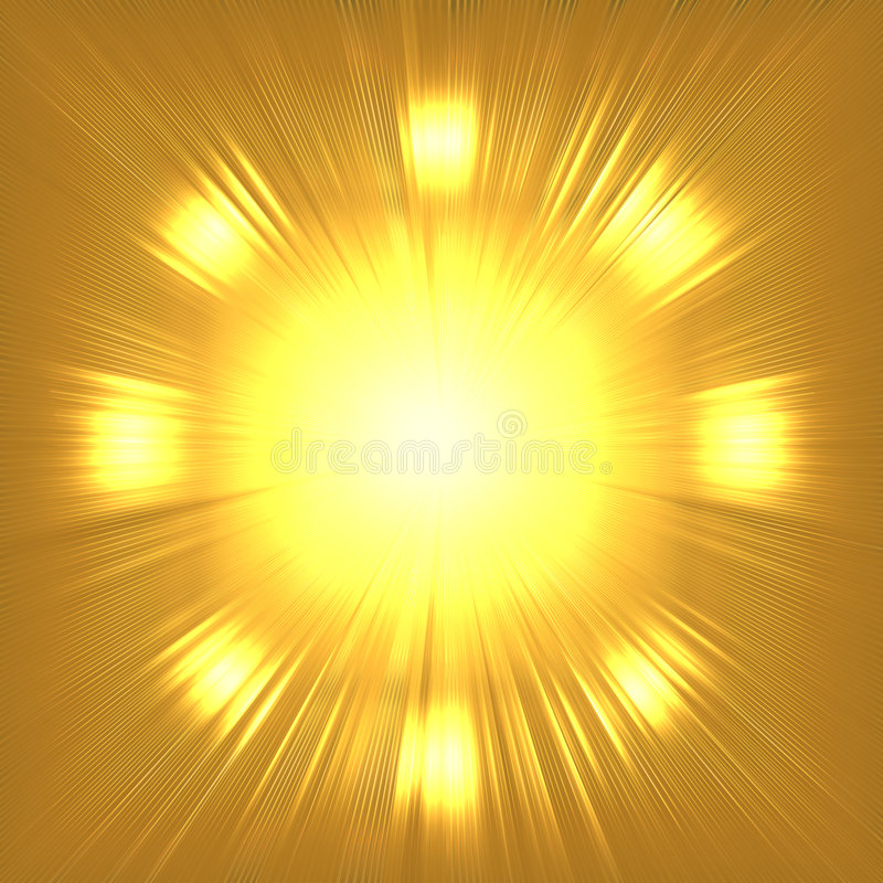 Abstract gold background vector illustration