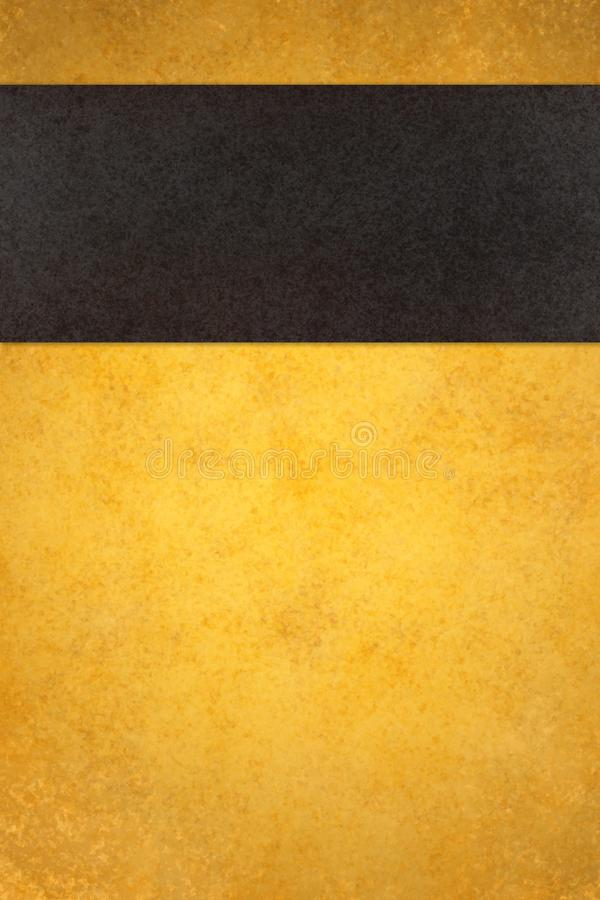 abstract gold background with black stripe stock photo