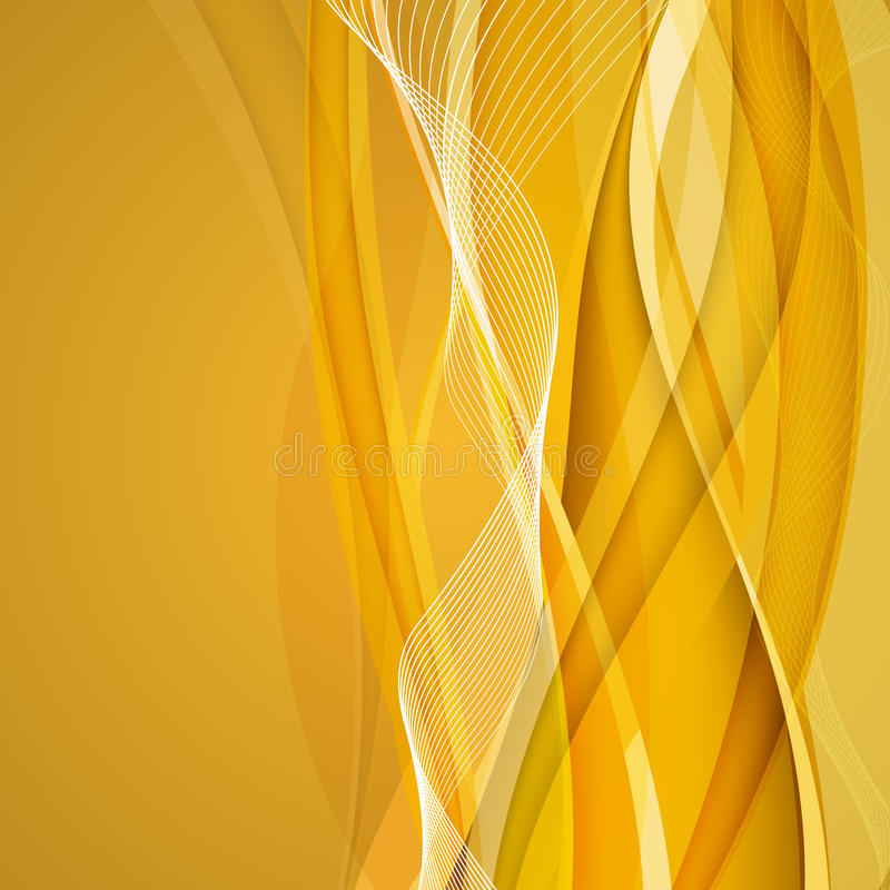Abstract gold background. Vector Illustration royalty free illustration