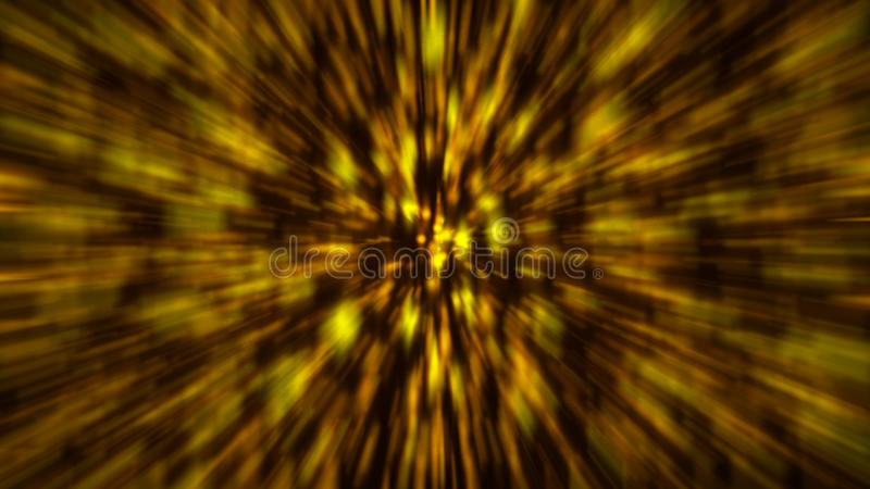 Abstract gold blur background. Zoom bacdrop stock illustration