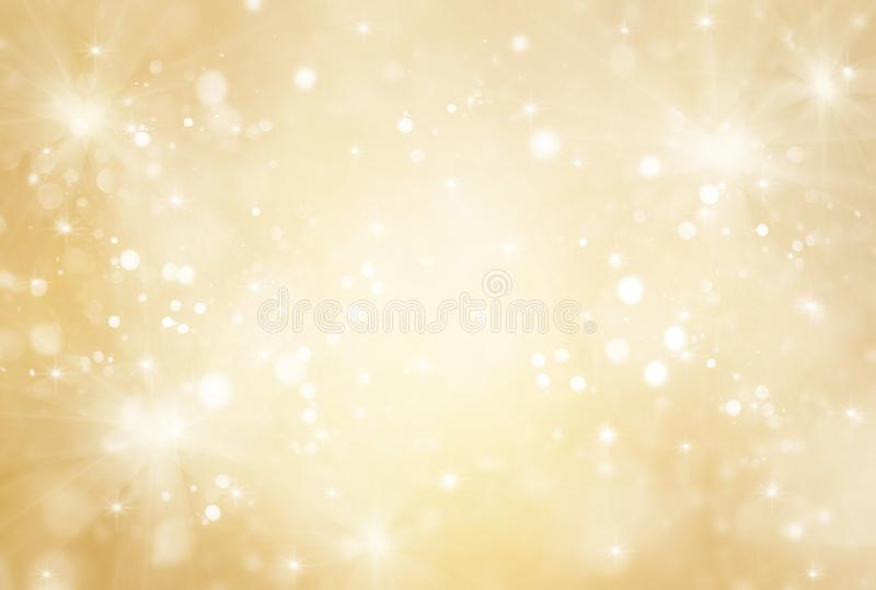 Abstract gold and bright glitter for new year background royalty free stock photos