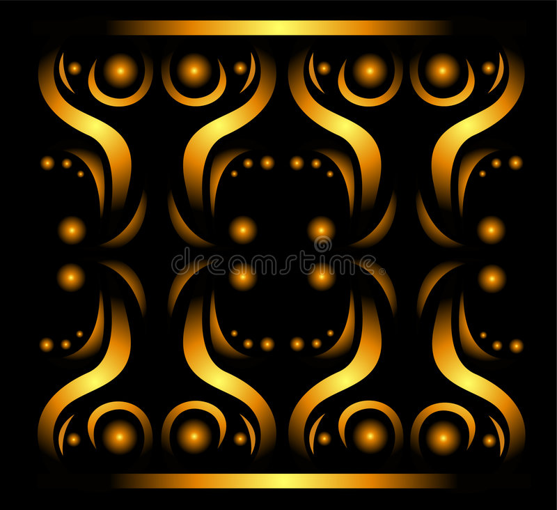 Free Abstract Gold Pattern Stock Photos - 6579393