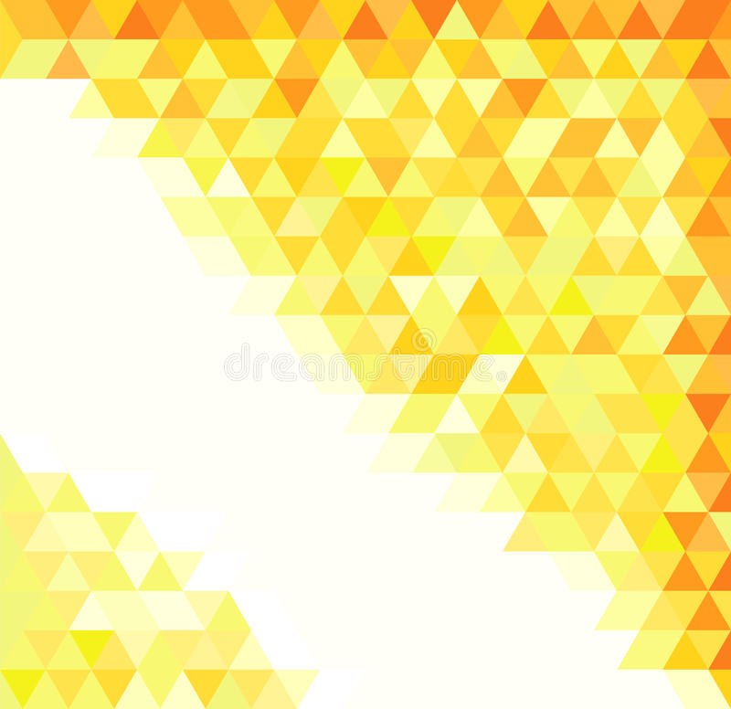 Abstract gold pattern royalty free illustration