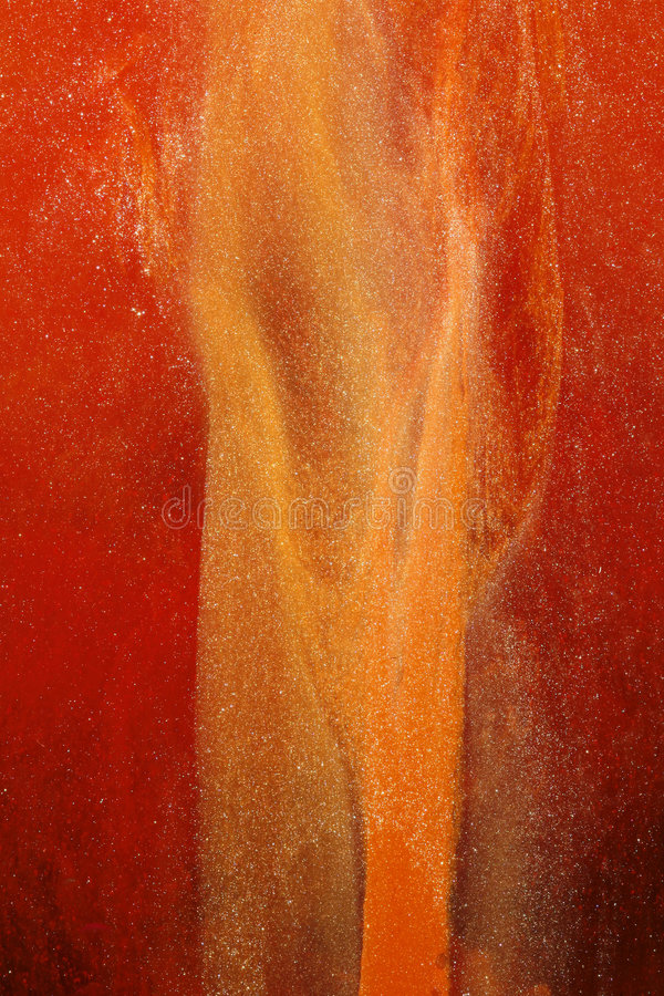Abstract gold and red royalty free stock photography