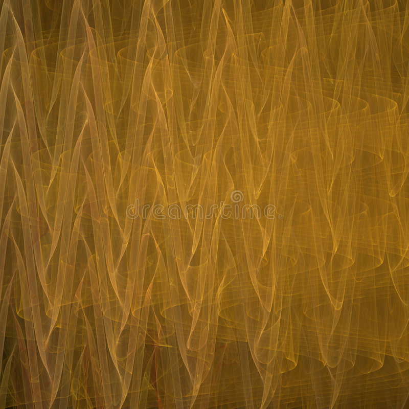Free Abstract Gold Waves Stock Image - 8231471
