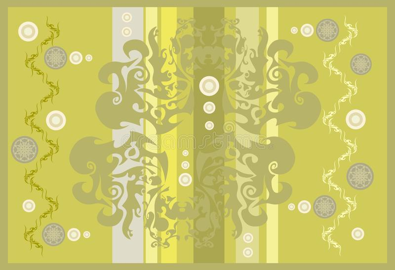 Abstract golden background stock illustration